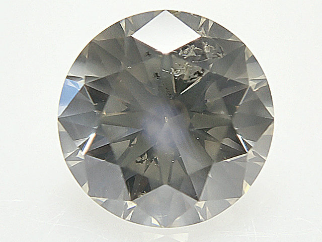 0.603ct VERY.LIGHT.BROWN,I1,EXCELLENT,H&C(ハート&キューピット) ダイヤモンドルース