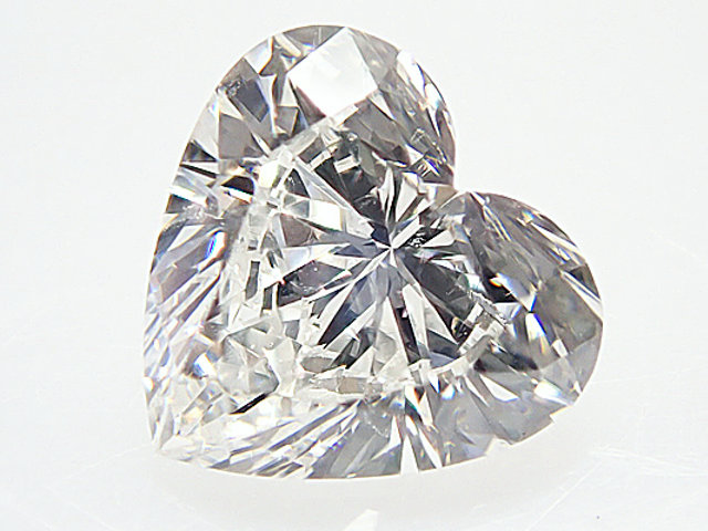 0.506ct F,SI1,ハートシェイプ ダイヤモンドルース