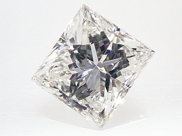 0.522ct G,SI1,プリンセスカット ダイヤモンドルース
