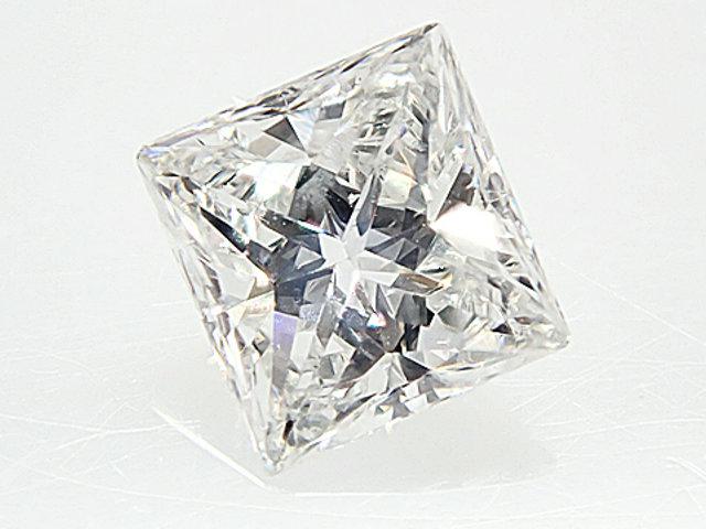 0.233ct F,SI1,プリンセスカット ダイヤモンドルース