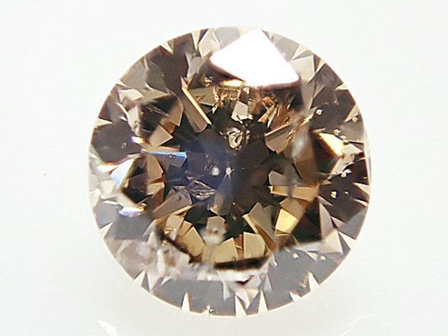 0.505ct FANCY.BROWN,SI2,ラウンド ブラウンダイヤモンドルース