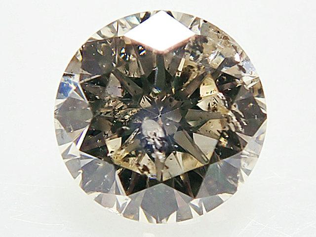 0.524ct LIGHT.BROWN,SI2,GOOD ダイヤモンドルース