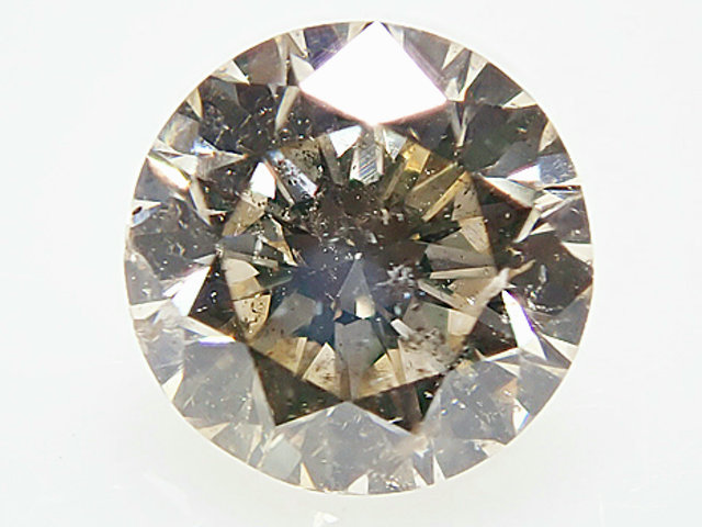 0.430ct LIGHT.BROWN,SI2,GOOD ダイヤモンドルース