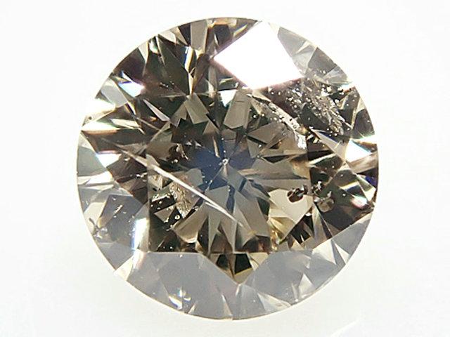 0.400ct LIGHT BROWN,SI2,GOOD ダイヤモンドルース