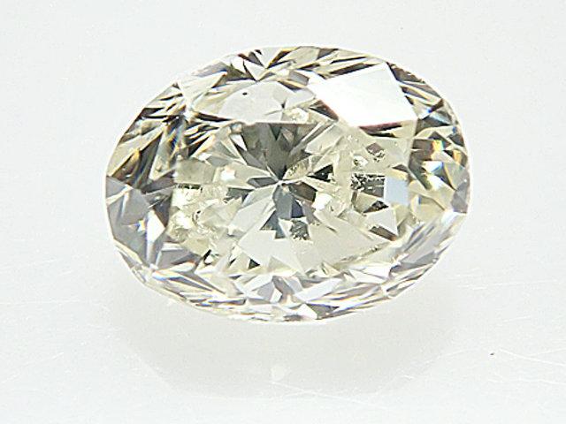 0.344ct M,VS2,オーバル ダイヤモンドルース