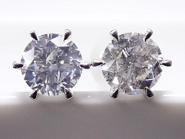 【予約受付中】 0.531ct&& 0.531ct 0.503ct F-G,SI2,VERY GOOD PT製 6本爪 ダイヤモンドピアス, Shirokuro:40fdeaa5 --- villanergiz.com