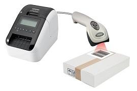 パソコンレスでラベルを印刷  BarcodeCopier(2.5インチ,1D) BCC820-1D/F560G
