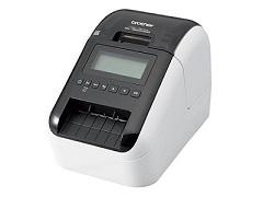 低価格感熱式ラベルプリンタ QL-820NWB