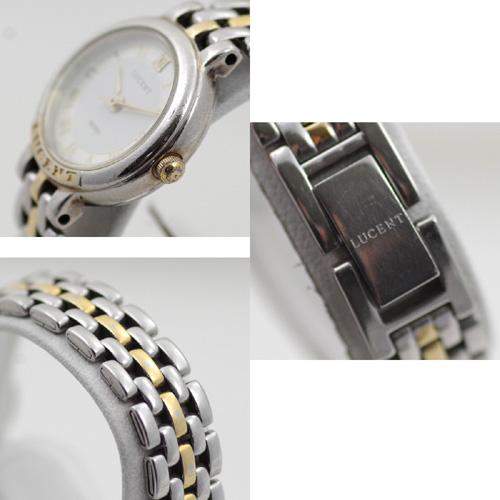SEIKO Lucent LUCENT 4N21-035A quartz SS X YG combination Lady's watch