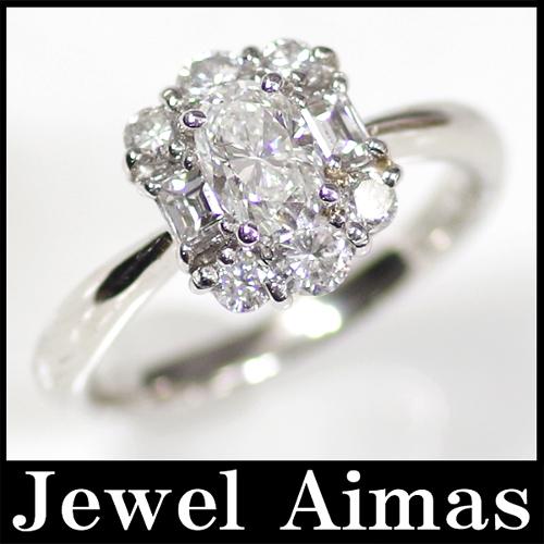 ジュエリー ダイヤモンド VS 2 0 614ct 0 65ct リング PT900 12号中央宝石dCWrBoxe
