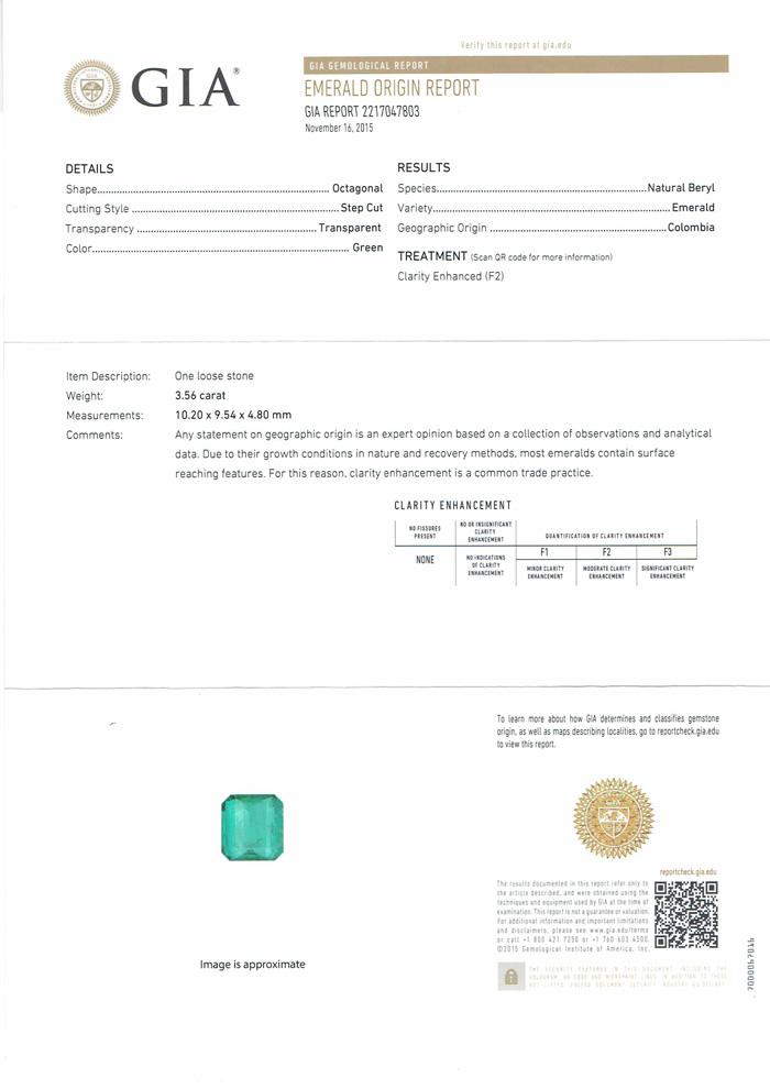 【スーパーSALE30%オフ】新品【ジュエリー】エメラルド 3.56ct ダイヤモンド 1.17ct リング PT900 13号 GIA
