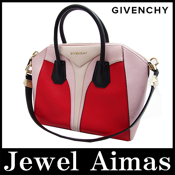 dbc54bbfdb Givenchy antigona three color by color 2-WAY handheld shoulder bag baby  pink red beige