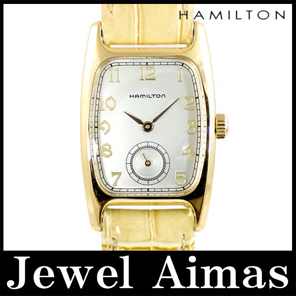 Hamilton Bolton 6264 Silver Dial SS stainless steel ladies quartz