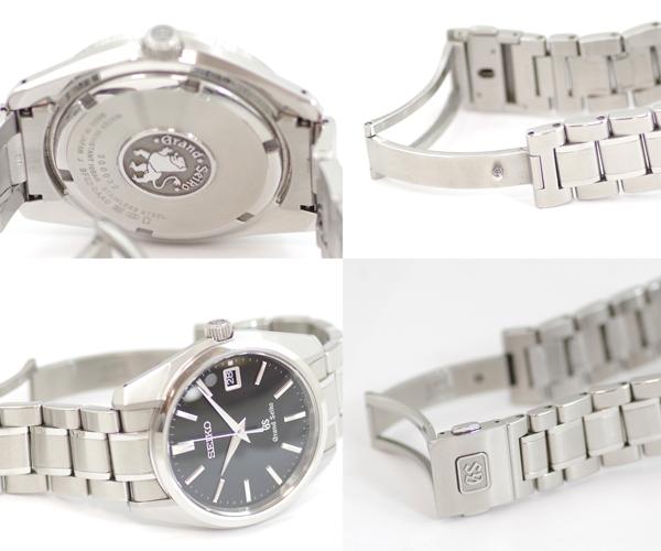 Seiko Grand Seiko SBGV007 9F82-0AA0 date master shop limited edition model black dial SS stainless steel mens quartz