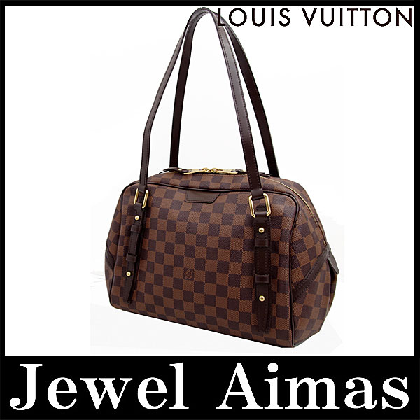 687b86924a67 Unused items Louis Vuitton Damier Rivington GM hand Tote shoulder bag even  N41158