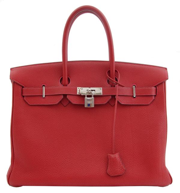 Jewel Aimas  Hermes Birkin 35 hand tote bags Red Red silver fittings there  Birkin35 Black  e079fe1f466b5