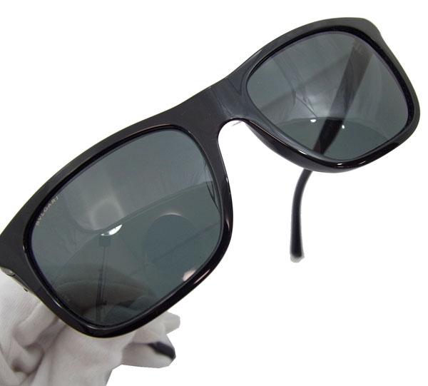 불가리 선글라스 블랙 로고 안경 프레임