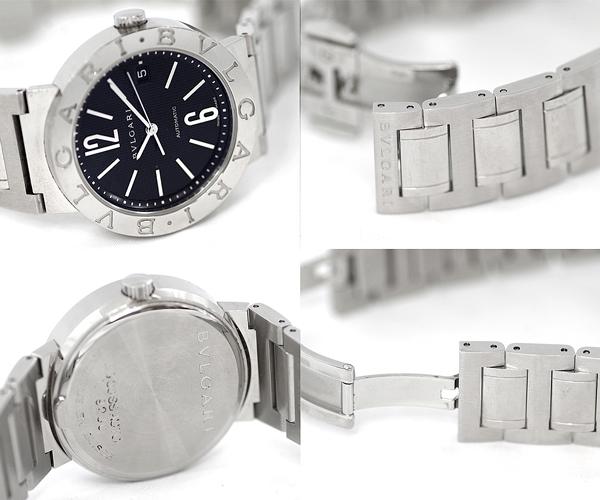 finest selection 20074 e574f  BVLGARI BVLGARI BVLGARI BB38SS men watch self-winding watch / automatic  new model model date lindera board