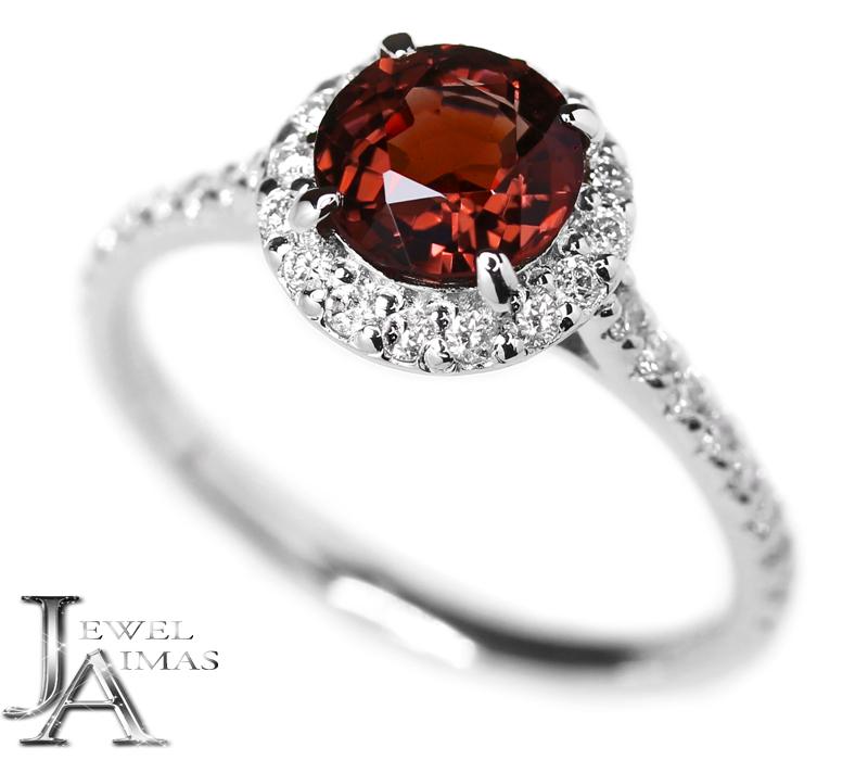 レッドスピネル 1.2ct ダイヤモンド 0.33ct リング 12.5号 PT900 プラチナ【新品】【ジュエリー】RZE.I