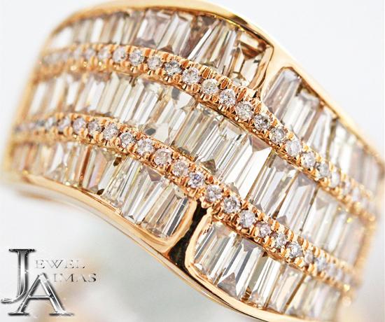 ダイヤモンド 3ct リング 13号 K18PG ピンクゴールド【新品】【ジュエリー】ZPJZ
