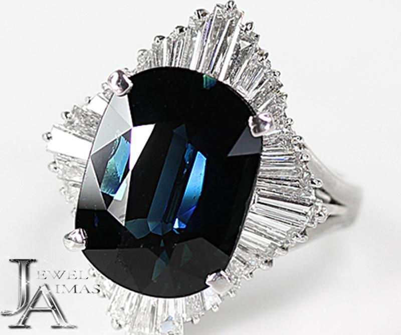 新品登場 【ジュエリー】サファイア 9.52ct ダイヤモンド 2.07ct リング 13号 PT900【】, 囲碁ラボJAPAN:653faa87 --- greencard.progsite.com