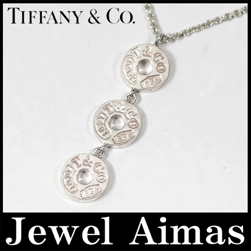 Jewel aimas rakuten global market tiffany three drop circle tiffany three drop circle pendant necklace silver sv925 aloadofball Image collections
