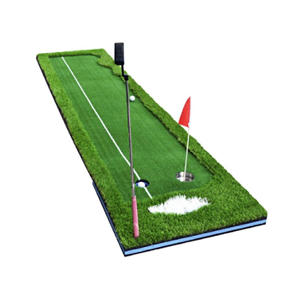 送料無料 スピード発送 ゴルフ パターマット 旗付き ーVer6ー 人工芝生 マット3m パター練習器具 パター練習マット パター 半額 マット 室内 大型 練習 室外 自宅 パッティング ライン 一部予約 練習用具 ゴルフ練習 パット カップ パター練習 ゴルフ練習用品