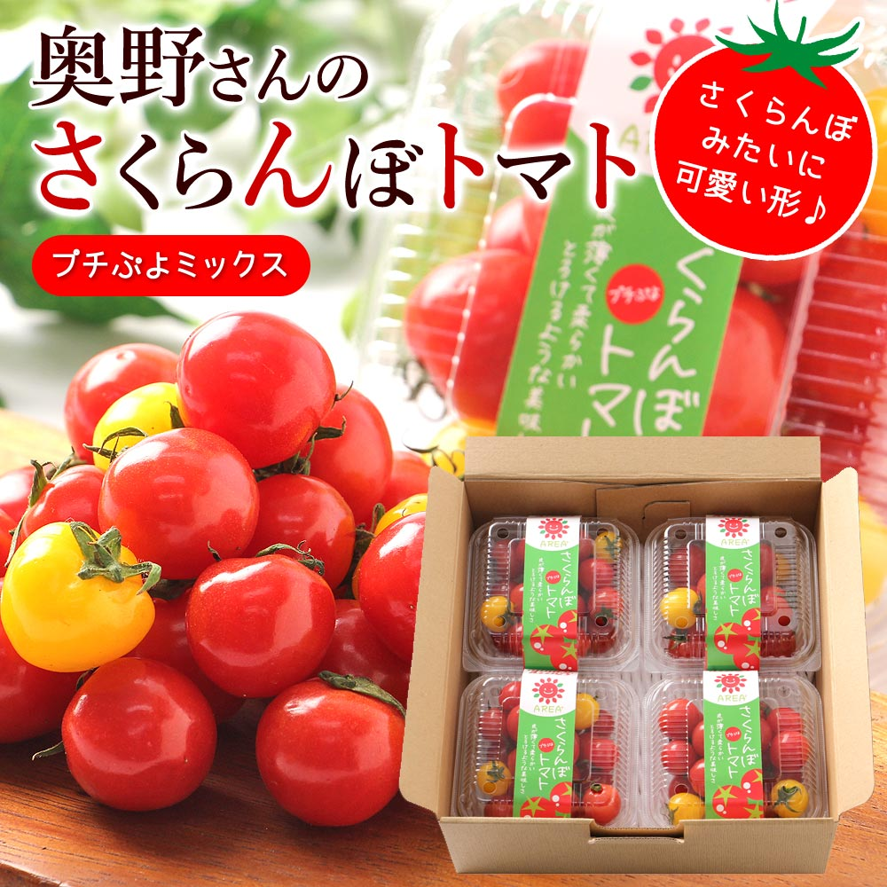さくらんぼトマト赤黄