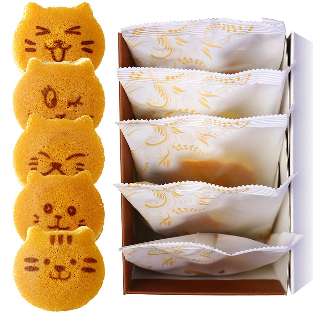 猫のどら焼きどらネコ 5個入