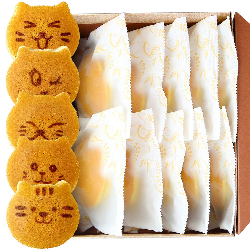 お取り寄せ(楽天) ねこのお菓子 どらネコ 猫どら焼き 10個 価格3,240円 (税込)