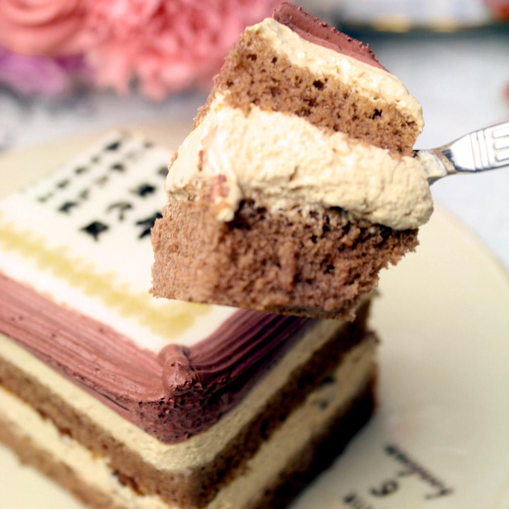 洋菓子・和菓子>ケーキで感謝状・表彰状>ケーキで感謝状>【母の日】ケーキで感謝状>【母の日】ケーキで感謝状(名入れ)