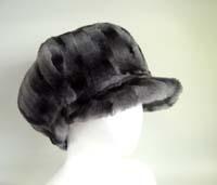 本物の毛皮の帽子が驚きの価格で登場!fur hat 毛皮帽子 ヌートリア ファー キャスケット