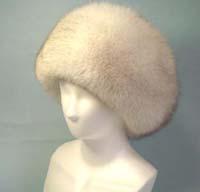 フォックスならではのボリューム感 fur 高品質 hat 毛皮帽子 フォックス ファー帽子 青キツネ 送料無料 SALE