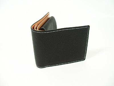 レザースタジオKAZU 二つ折り財布 小銭入れ付 送料無料 激安 ブランド買うならブランドオフ お買い得 キ゛フト 2つ折札入