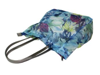 素敵な花柄が印象的なトートバッグです <セール&特集> カリーナ チュール トートバッグ 2本手 Mサイズ 新色 おしゃれ フラワー 送料無料 ギフト 軽量