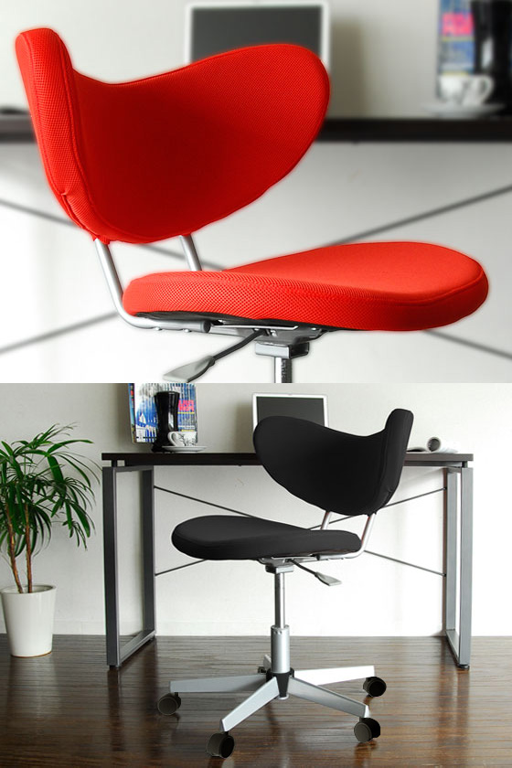 Comfortable Office Chair Victory That Wred Soft Paso Concha Desk With Casters Chairs Red Black