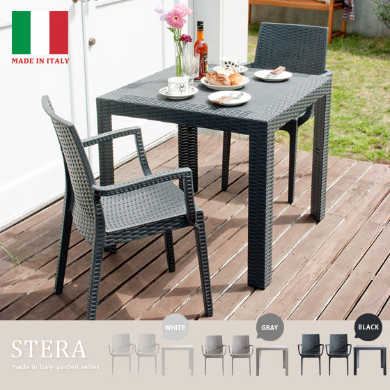 Garden Table U0026amp; Chairs 3 Point Set Latin Style Garden Table Set Chairs  Chairs Balcony Terrace Indoor Out Cum For STERA (Stella) 3 Piece Set  Armchair ...