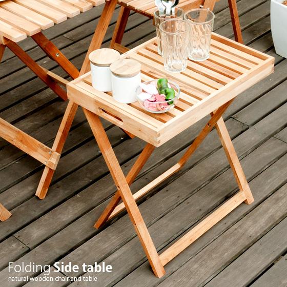 Garden Table Veranda Garden Table Wooden Folding Folding Table Garden  Furniture Side Tables Outdoor Garden Patio Outdoor Folding Garden Side  Table Side ...
