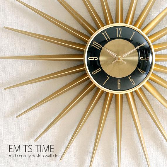 mid century wall clock air rhizome: Mid century design wall clock clock clock Nordic mid  mid century wall clock