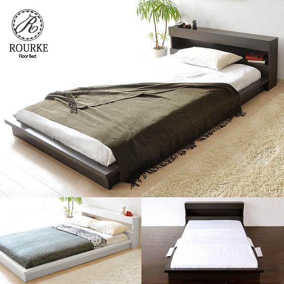 air-rhizome  라쿠텐 일본: 침대 싱글 하나의 싱글 침대 나무 침대 2 ...