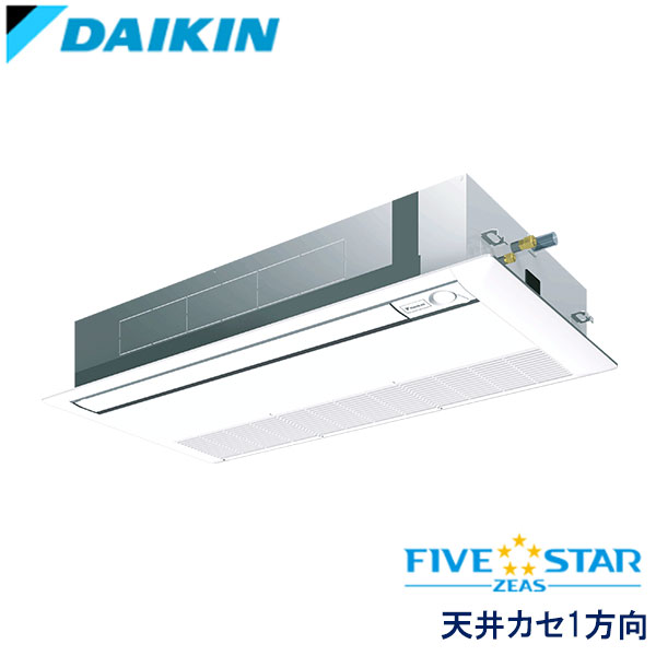 業務用エアコン ダイキン SSRK80BFNT 天井埋込カセット形 シングルフロー 3馬力 三相200V ワイヤレスリモコン 標準パネル