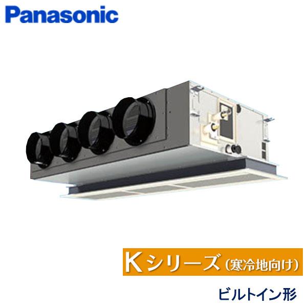 業務用エアコン パナソニック PA-P112F6K 天井ビルトインカセット形 4馬力 三相200V ワイヤードリモコン 標準パネル