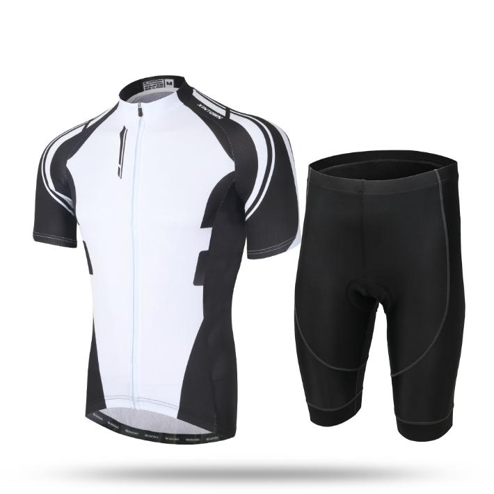 AIRFRIC サイクルジャージ メンズ お気に入り 日本限定 夏 半袖 17ss01-BK 上下セット サイクルウェア