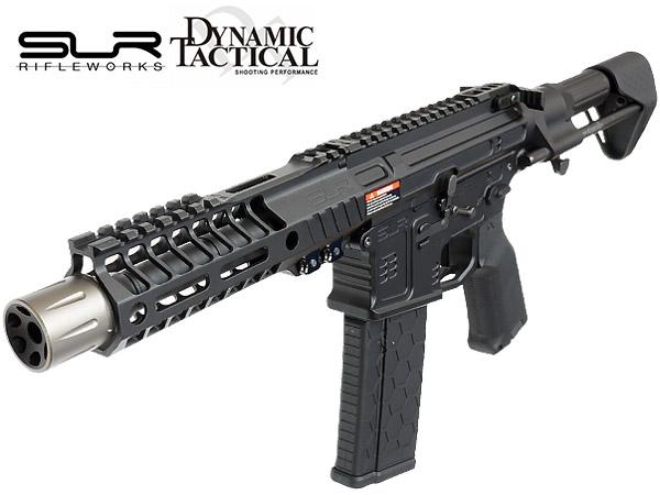 【SLR社 正式ライセンス】 電動ガン SLR B15 Helix Ultralight PDW Rifle | SLR-AEG35A-BK 18禁 18歳以上 エアガン エアーガン スタンダード AEG M4 カスタム パーツ カスタムパーツ アサルトライフル サバゲー サバイバルゲーム フルメタル ショート CQB M-LOK エムロック