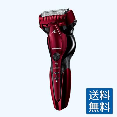 パナソニック ラムダッシュ 3枚刃 赤 ES-ST6R-R メンズシェーバー リニアモーター駆動 海外使用可 お風呂剃り