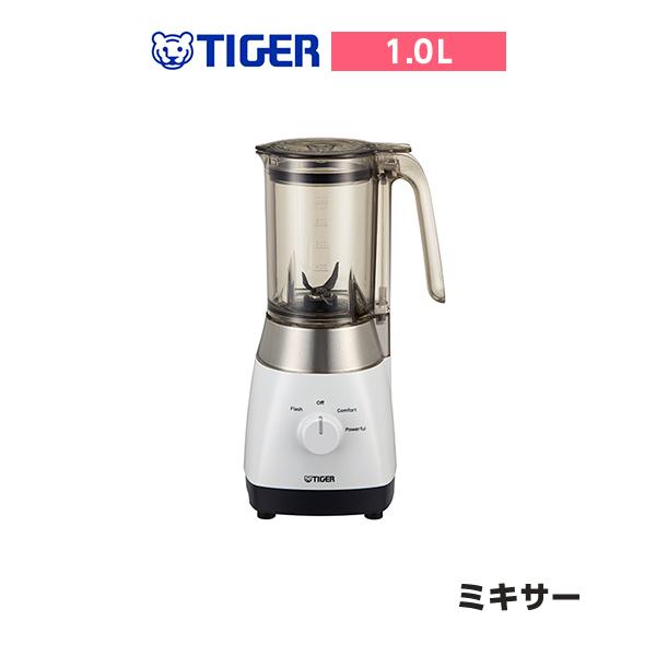 タイガー ミキサー  ミスティホワイト SKT-A100-WM パワフルモード なめらか食感 ブラックチタン コードリール