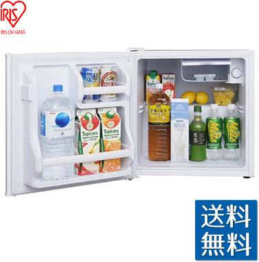 アイリスオーヤマ 冷蔵庫 42L ホワイト AF42L-W