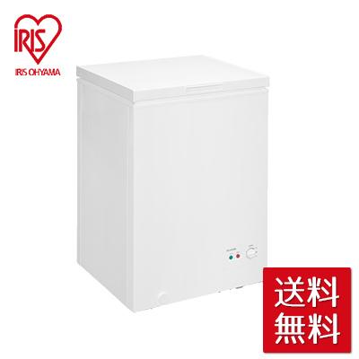 アイリスオーヤマ 上開き式冷凍庫 100L ホワイト ICSD-10A-W