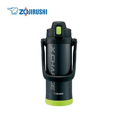 一日中おいしく飲める 象印 ZOJIRUSHI ステンレスクールボトル TUFF 清潔 正規取扱店 ライムブラック SD-BD20-BG 2.06L 送料無料 激安 お買い得 キ゛フト ギフト対応