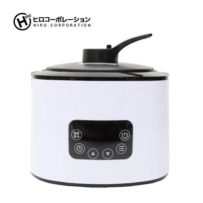 ヒロコーポレーション 発芽玄米糖質カット炊飯器 ホワイト NC-F190WH 保温 加熱 煮物 糖質オフ炊飯 4合